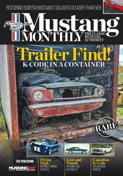 Mustang Monthly Cover - 12/1/2019