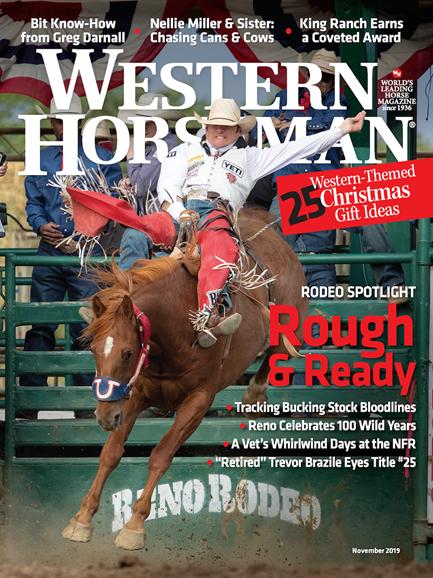 Western Horseman Cover - 11/1/2019