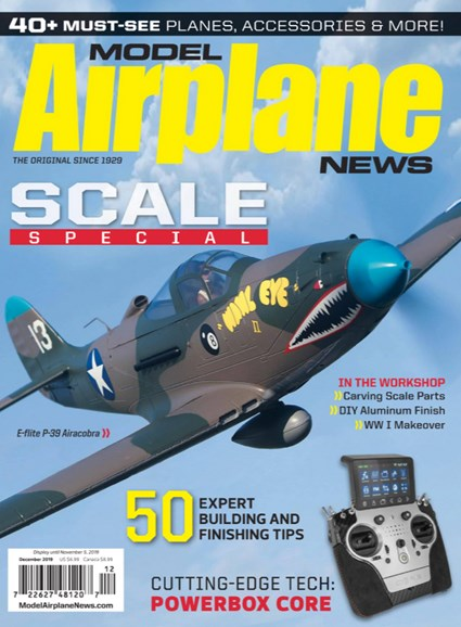 Model Airplane News Cover - 12/1/2019