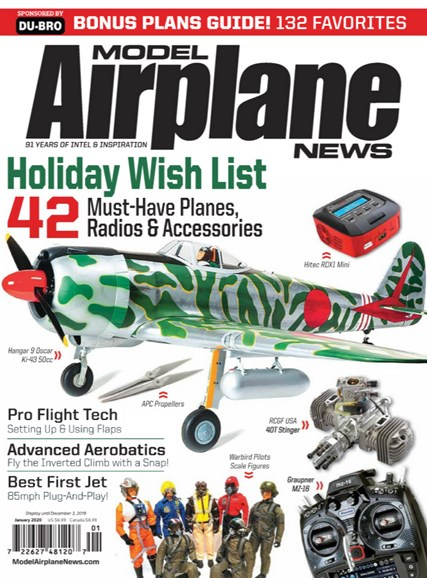 Model Airplane News Cover - 1/1/2020
