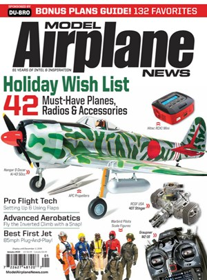Model Airplane News Magazine   1/2020 Cover