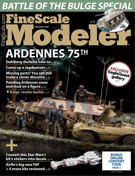 Finescale Modeler Cover - 12/1/2019