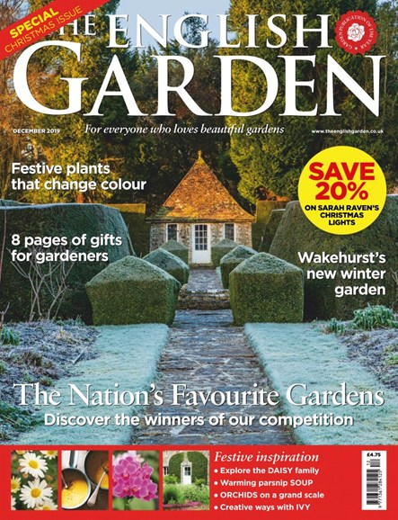 The English Garden Cover - 12/1/2019