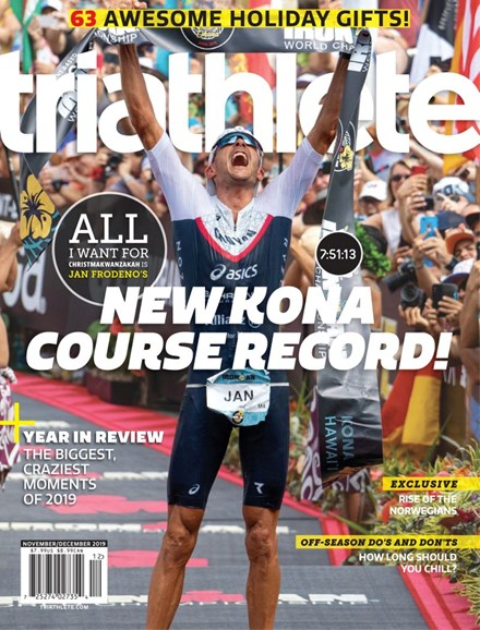 Triathlete Cover - 11/1/2019