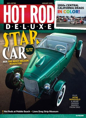 Hot Rod Deluxe Magazine | 1/2020 Cover