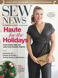 Sew News Magazine | 12/2019 Cover