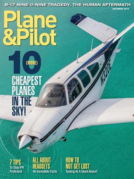 Plane & Pilot Cover - 12/1/2019
