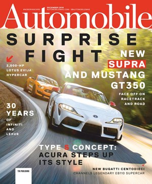 Automobile Magazine | 12/1/2019 Cover