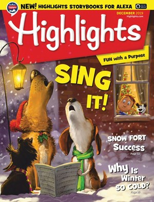 Highlights Magazine   12/2019 Cover