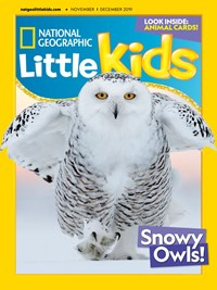 National Geographic Little Kids Magazine | 11/2019 Cover