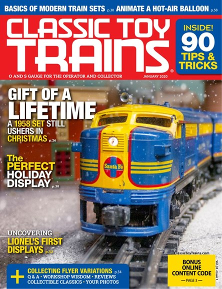 Classic Toy Trains Cover - 1/1/2020
