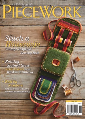 Piecework Magazine | 12/2019 Cover