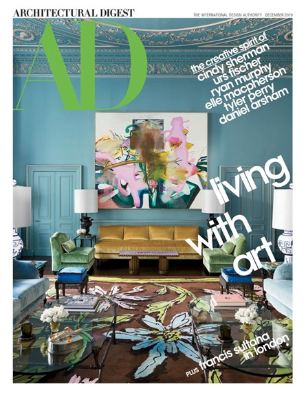 Architectural Digest Cover - 12/1/2019
