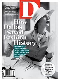 Dallas Magazine | 11/2019 Cover