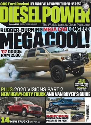 Diesel Power Magazine | 1/2020 Cover