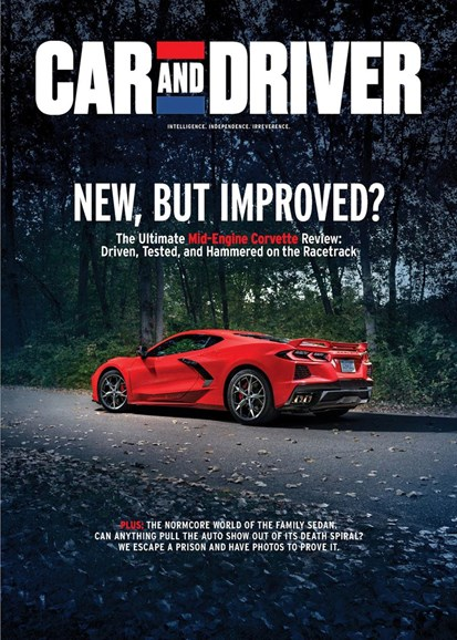Car And Driver Cover - 12/1/2019