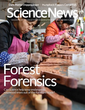 Science News Magazine | 11/9/2019 Cover