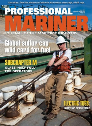 Professional Mariner Magazine | 12/2019 Cover