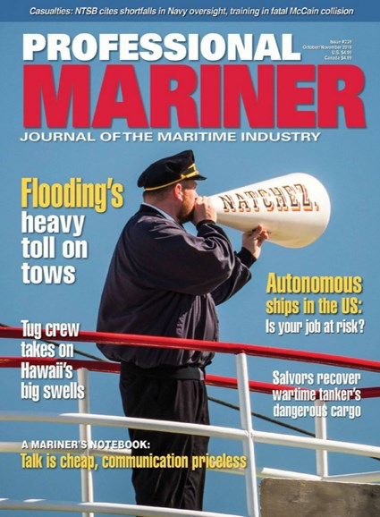 Professional Mariner Cover - 10/1/2019