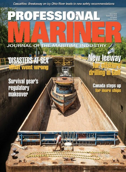 Professional Mariner Cover - 9/1/2019