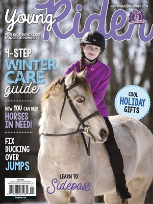 Young Rider Magazine   11/2019 Cover