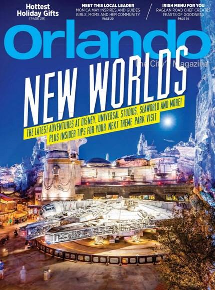 Orlando Magazine Cover - 11/1/2019