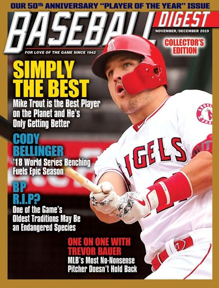 Baseball Digest Cover - 11/1/2019