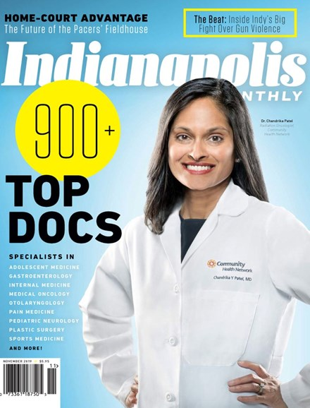 Indianapolis Monthly Cover - 11/1/2019