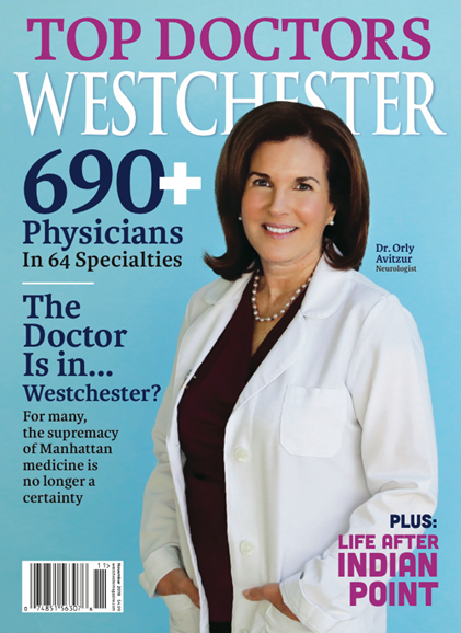 Westchester Magazine Cover - 11/1/2019
