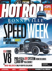 Hot Rod Magazine | 1/2020 Cover