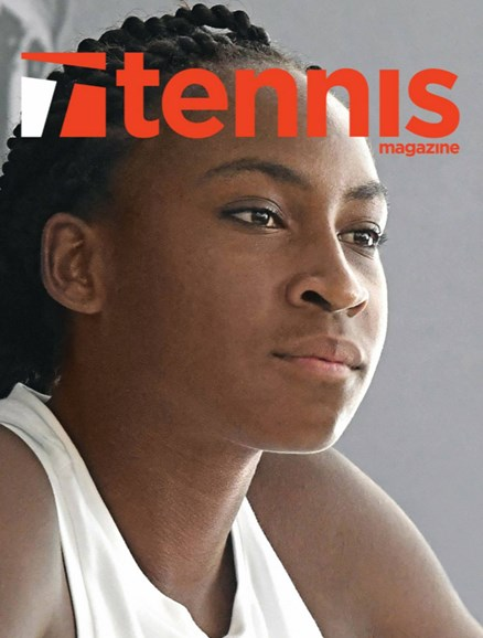 Tennis Magazine Cover - 11/1/2019
