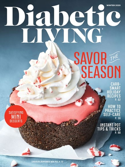 Diabetic Living Cover - 1/1/2020