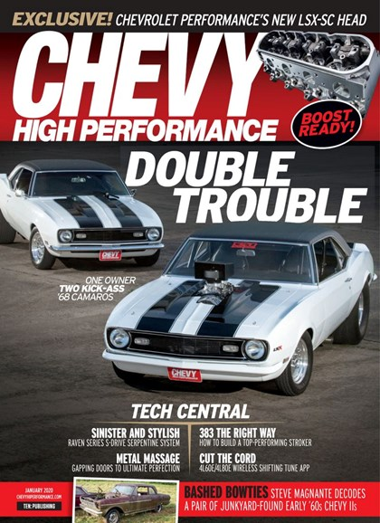 Chevy High Performance Cover - 1/1/2020