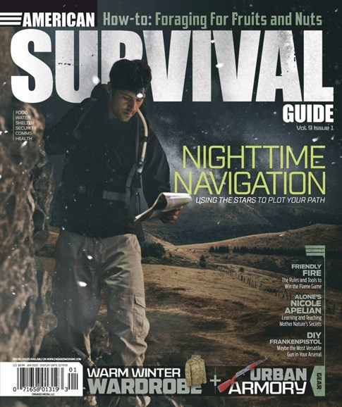 American Survival Guide Cover - 1/1/2020
