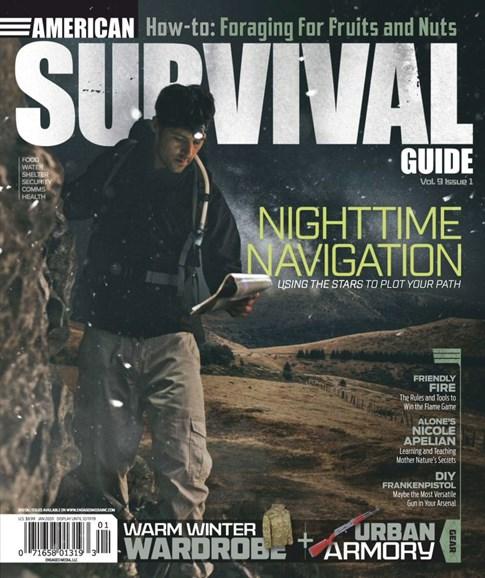 American Survival Guide Cover - 1/1/2020