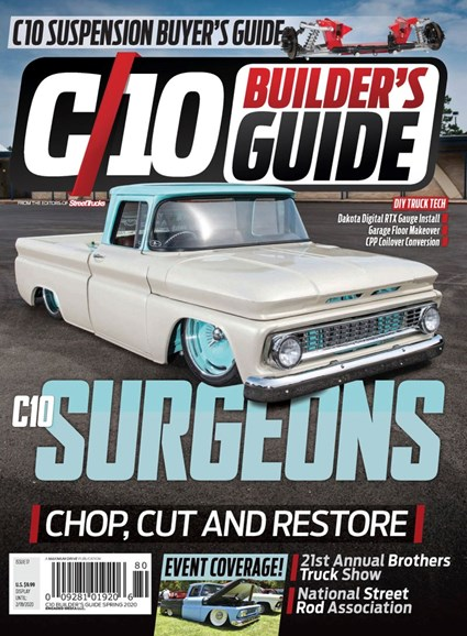 C10 Builders Guide Cover - 3/1/2020