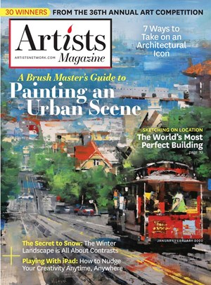 Artists Magazine | 1/2020 Cover
