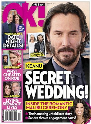 Ok Magazine | 11/25/2019 Cover