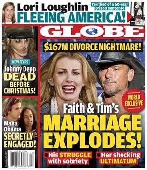 Globe Magazine | 11/25/2019 Cover