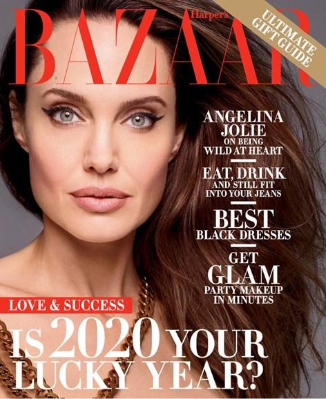 Harper's Bazaar Cover - 12/1/2019