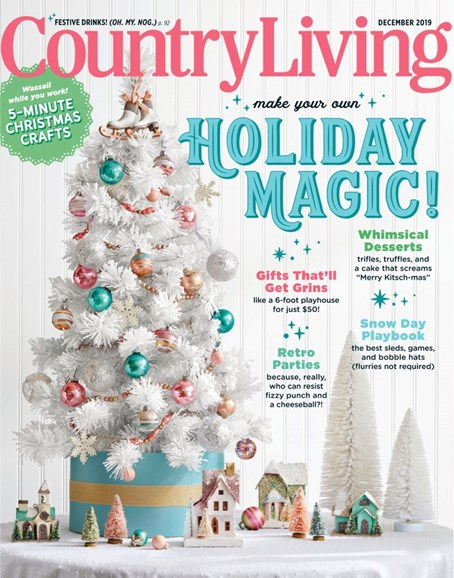 Country Living Cover - 12/1/2019