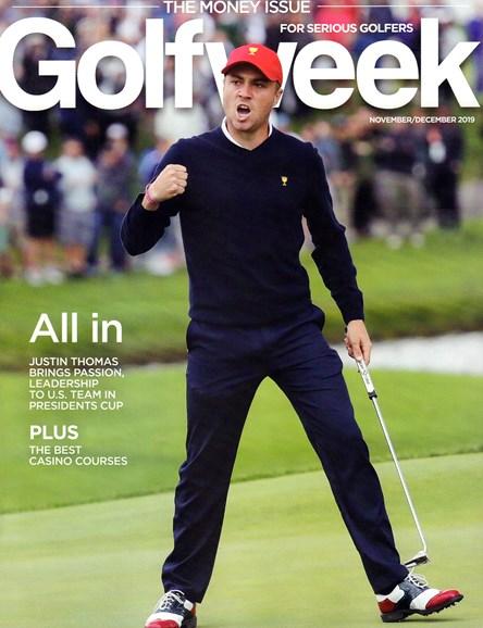 Golfweek Cover - 11/1/2019
