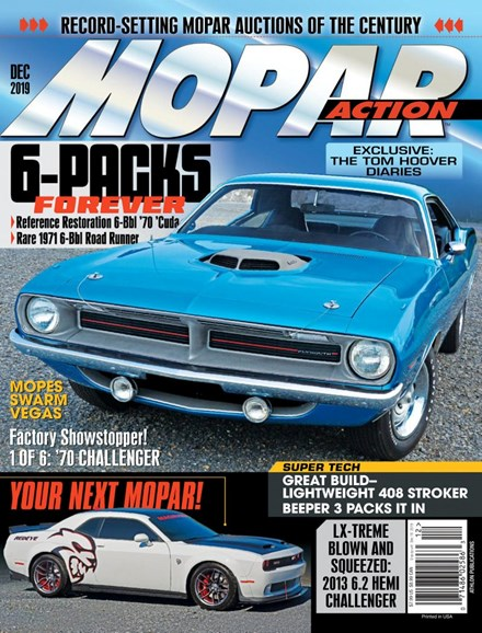 Mopar Action Cover - 12/1/2019