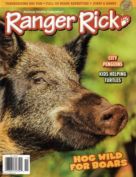 Ranger Rick Cover - 11/1/2019