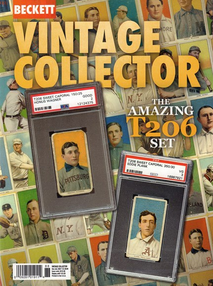 Beckett Vintage Collector Cover - 12/1/2019