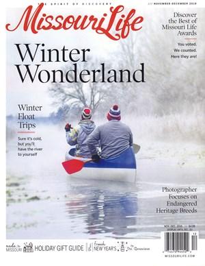 Missouri Life Magazine   11/2019 Cover