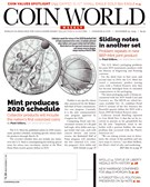 Coin World Magazine 11/25/2019