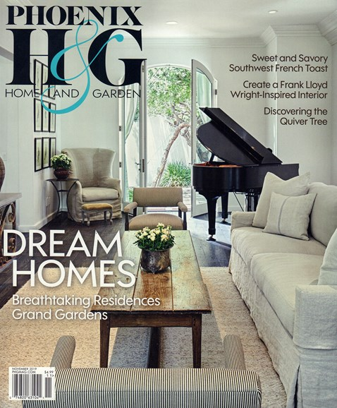 Phoenix Home & Garden Cover - 11/1/2019