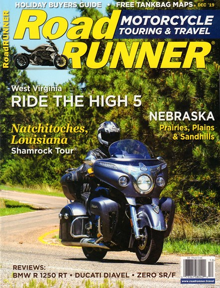 Road RUNNER Motorcycle & Touring Cover - 12/1/2019