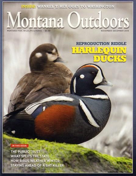 Montana Outdoors Cover - 11/1/2019